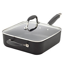 Anolon Advanced Hard-Anodized Nonstick 4qt Covered Square Sauté with Helper Handle