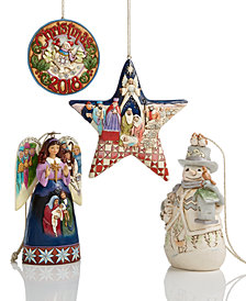 Jim Shore Ornament Collection