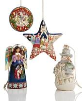 Jim Shore Ornament Collection