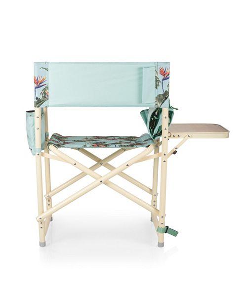 Terrific Oniva By Outdoor Light Blue Directors Folding Chair Inzonedesignstudio Interior Chair Design Inzonedesignstudiocom