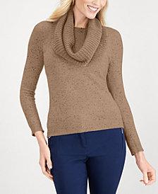 Karen Scott Infinity-Scarf Sweater, Created for Macy's