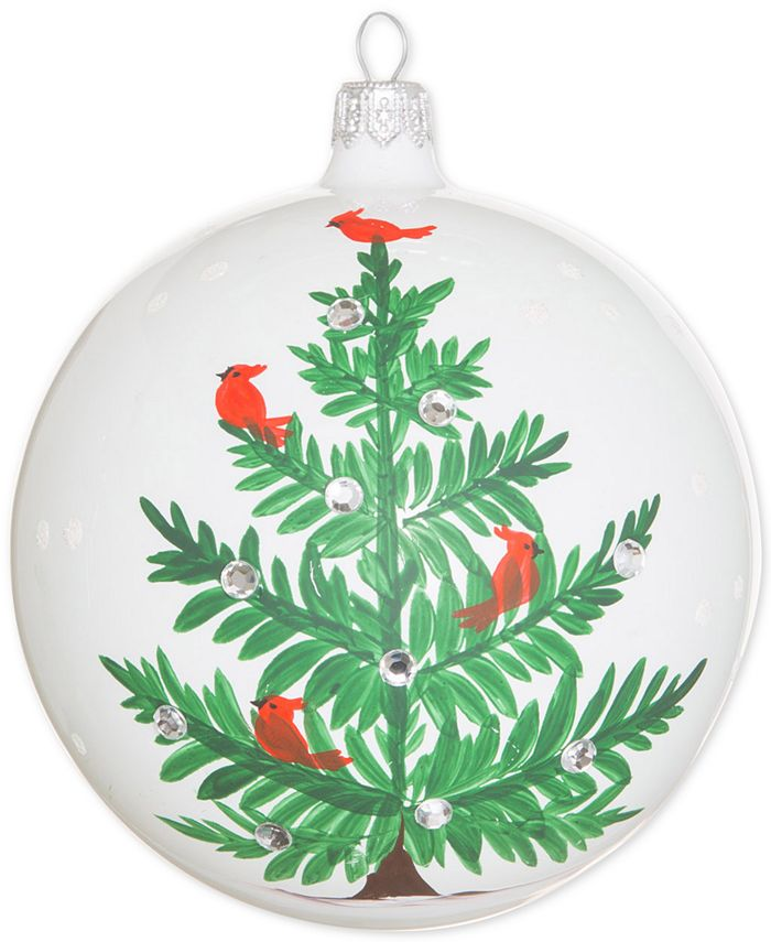 VIETRI - Lastra Holiday Tree Glass Ornament