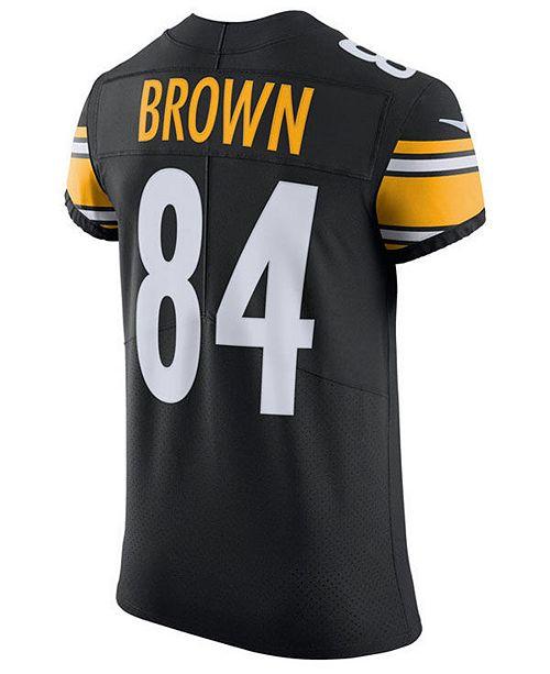 huge sale 55e72 78fd9 Nike Men's Antonio Brown Pittsburgh Steelers Vapor ...