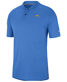 Nike Men's Los Angeles Chargers Elite Coaches Polo 2018