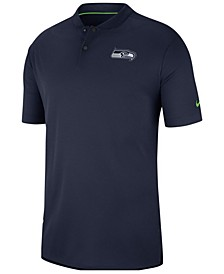 Men's Seattle Seahawks Elite Coaches Polo 2018