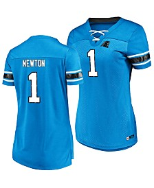 Majestic Women's Cam Newton Carolina Panthers Draft Him Shirt 2018