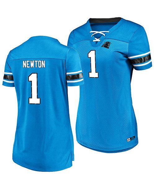 info for f7979 b9081 Women's Cam Newton Carolina Panthers Draft Him Shirt 2018