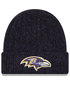 New Era Women's Baltimore Ravens On Field Knit Hat