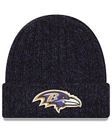 New Era Women's Baltimore Ravens On Field Knit Hat