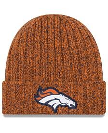 New Era Women's Denver Broncos On Field Knit Hat