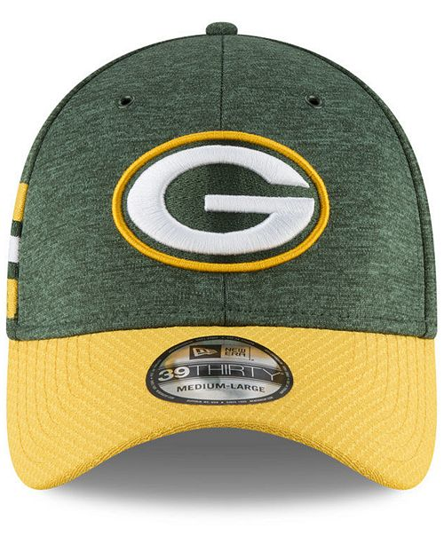 New Era Boys  Green Bay Packers Sideline Home 39THIRTY Cap - Sports ... df16aa48b8e