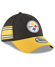 New Era Boys' Pittsburgh Steelers Sideline Home 39THIRTY Cap