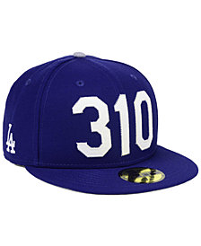 New Era Los Angeles Dodgers Area Code 59FIFTY FITTED Cap