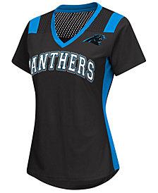 G-III Sports Women's Carolina Panthers Wildcard Jersey T-Shirt