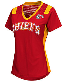 G-III Sports Women's Kansas City Chiefs Wildcard Jersey T-Shirt
