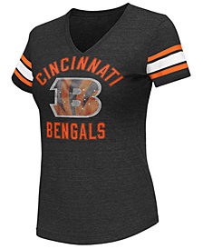 G-III Sports Women's Cincinnati Bengals Wildcard Bling T-Shirt