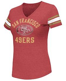 G-III Sports Women's San Francisco 49ers Wildcard Bling T-Shirt
