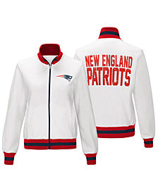 G-III Sports Women's New England Patriots Field Goal Track Jacket