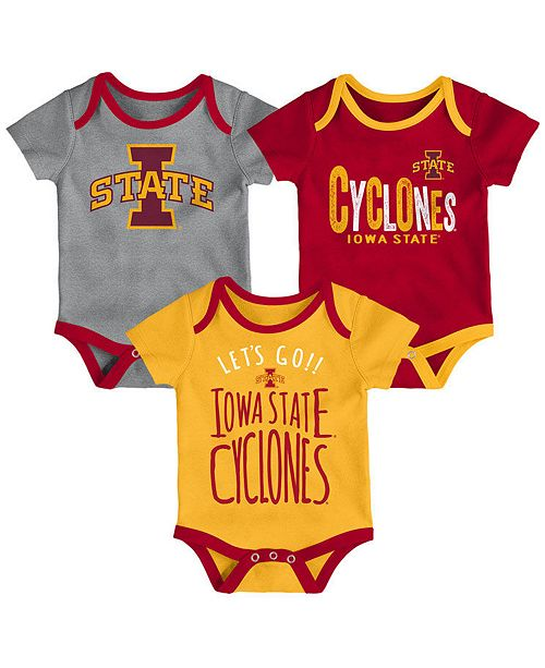 cheap for discount 40167 0eec6 Outerstuff Iowa State Cyclones Lil Tailgater 3 Piece Set, Infants (0 ...