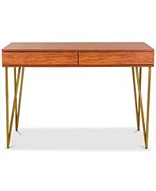 Pine Two-Drawer Desk