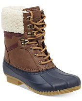 79605fe12e8663 Tommy Hilfiger Rian Lace-Up Winter Boots