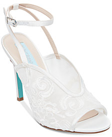 Blue by Betsey Johnson Lula Evening Sandals