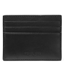 Michael Kors Men's Henry Leather Money Clip Card Case