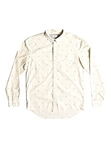 Men's Fuji Mini Motif Long Sleeve Woven