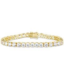 Swarovski Zirconia Link Bracelet in 18k Gold-Plated Sterling Silver