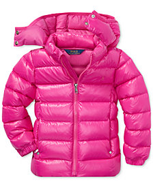 Polo Ralph Lauren Toddler Girls Hooded Down Jacket