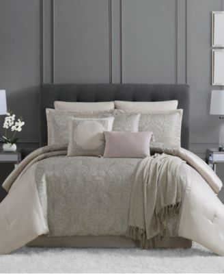 CLOSEOUT! Astor 10-Pc. Full Comforter Set, Created for Macy's