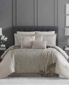 CLOSEOUT! Astor 10-Pc. Comforter Sets, Created for Macy's