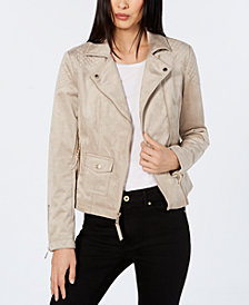 Tommy Hilfiger Quilted Moto Jacket, Created for Macy's