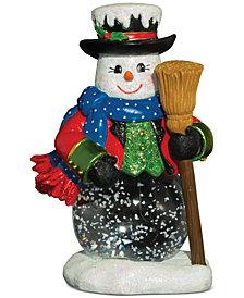 Christopher Radko Dickensian Snowman Snowglobe
