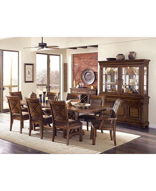 Furniture Mandara 2 Piece China Cabinet & Reviews