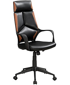 Executive Office Chair in Black Brown