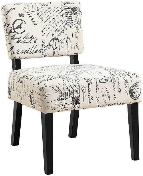 Peachy Accent Chair Vintage French Fabric Ocoug Best Dining Table And Chair Ideas Images Ocougorg