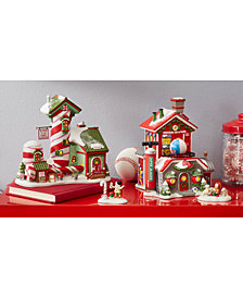 department 56 north pole village collection - Best Christmas Village Sets