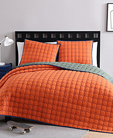 VCNY Home Jordan Reversible 2-Pc. Quilted Twin XL Coverlet Set