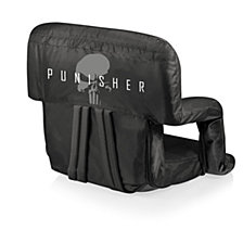 Picnic Time Marvel's Punisher Ventura Portable Reclining Stadium Seat