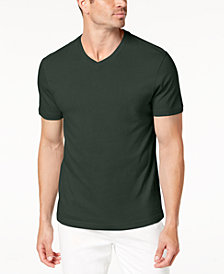 Club Room Men's Cotton V-Neck T-Shirt, Created for Macy's