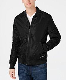 Calvin Klein Jeans Men's Nylon Bomber Jacket Created for Macy's