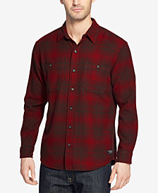 G.H. Bass Men's Face Bull Twill Over Shirt