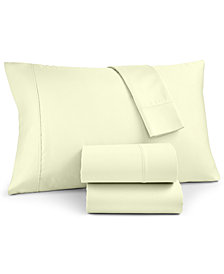Charter Club Sleep Luxe Solid King Pillowcase Pair, 700 Thread Count Egyptian Cotton, Created for Macy's