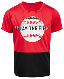Ideology Little Boys Field-Print T-Shirt, Created for Macy's