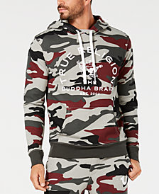 True Religion Men's Crafted With Pride Camouflage Logo-Print Hoodie