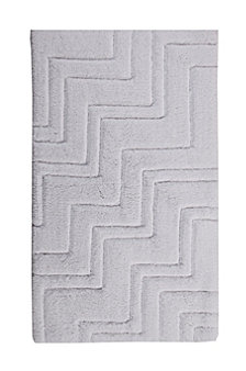 Zig Zag 17x24 Cotton Bath Rug