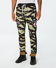 Reason Men's Take Over Camo Colorblocked Track Pants