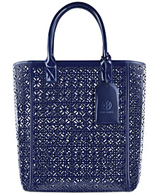 Receive a complimentary Tory Burch Tote with any $120 purchase from the Tory Burch Fragrance Collection