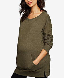 A Pea In The Pod Maternity French Terry Sweatshirt